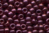 11-313SF Semi-matte Cranberry Gold Luster